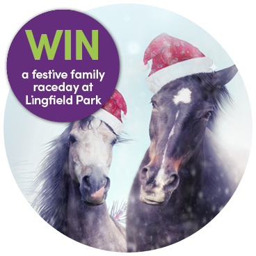 Win tickets to Santa's Saturday Raceday!